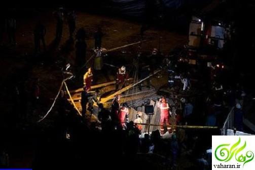 جزئیات خبر ریزش تونل مترو خط هفت مولوی خرداد 96