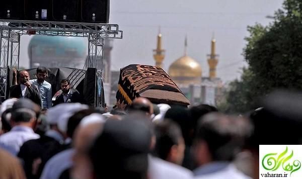 درگذشت همسر آیت الله علم الهدی خرداد 96 + زمان ومکان تشییع