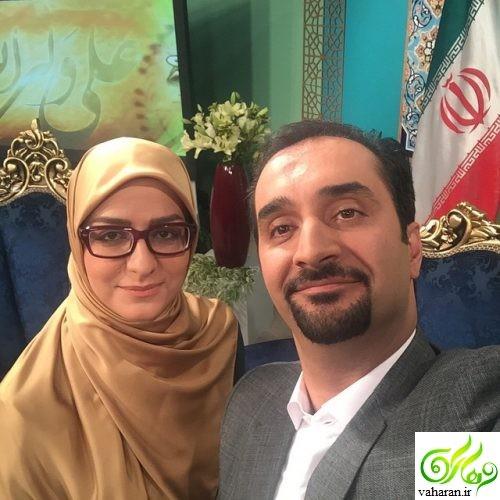 عذرخواهی نیما کرمی و همسرش به خاطر بغل همدیگر روی آنتن زنده + فیلم