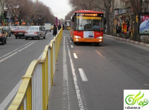 راهاندازی BRT تهران - کرج در سال 96