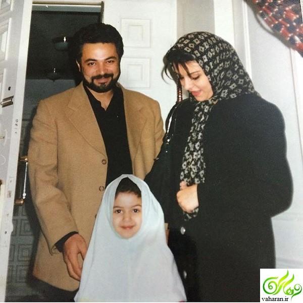 عکس دیده نشده از حسن جوهرچی و همسرش مهناز بیات