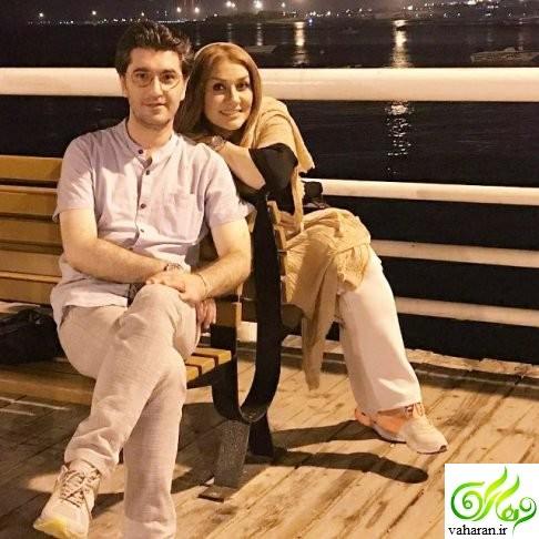 عکس های امیرحسین مدرس و همسرش تیر 96 در جزیره کیش
