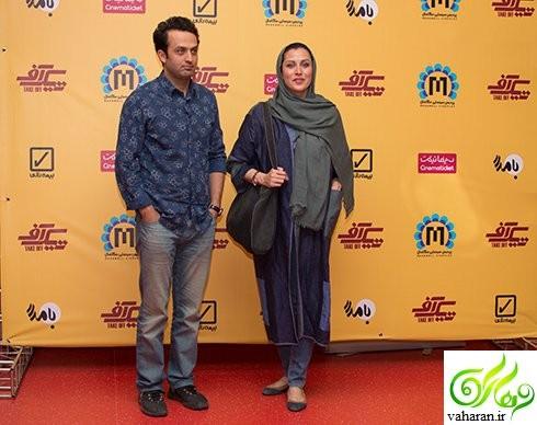 عکس های بازیگران در اکران مردمی فیلم تیک آف خرداد 96
