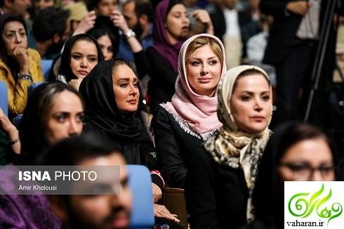 عکس های بازیگران در ضیافت افطار رئیس جمهور خرداد ۹۶