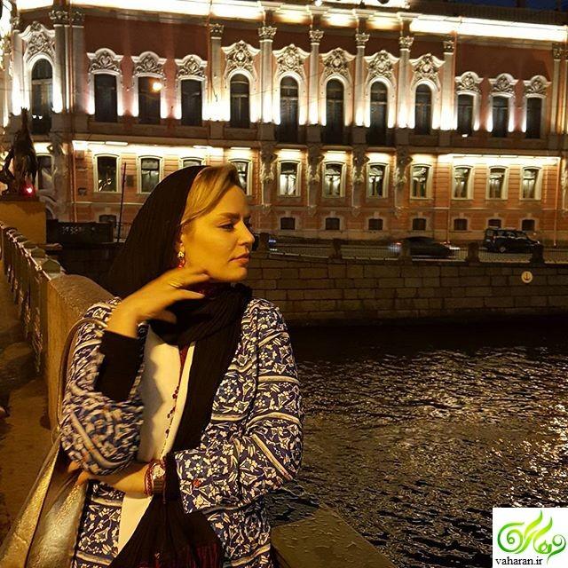 عکس های جدید سپیده خداوردی در روسیه خرداد 96