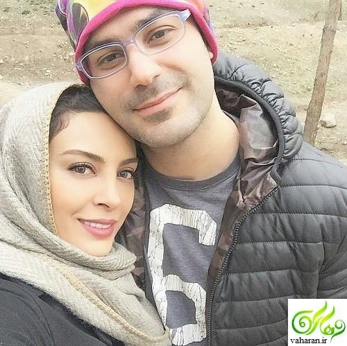 عکس های حدیثه تهرانی و همسرش کیان مقدم در سال 96