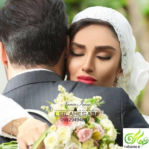 عکس های دیده نشده از بوسه عاشقانه هانیه غلامی و همسرش در آغوش همدیگر