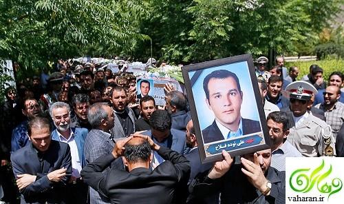 مراسم تشییع شهدای حادثه تروریستی خرداد 96 + عکس و گزارش