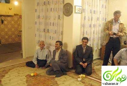 پدر بزرگ شدن احمدی نژاد تیر 96 + عکس نوه احمدی نژاد