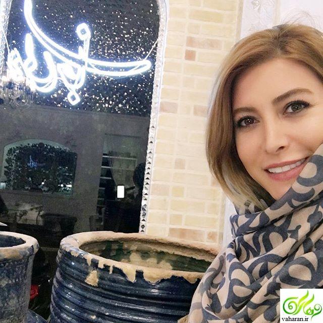 ازدواج مجدد فریبا نادری تیر 96 + عکس همسرش