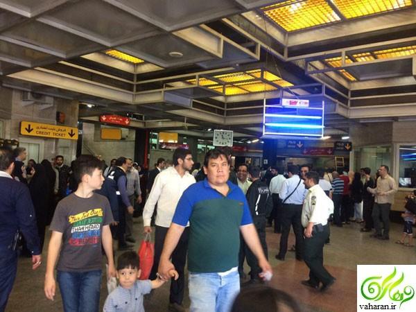 جزییات تیراندازی در مترو شهرری تیر 96 + عکس و فیلم