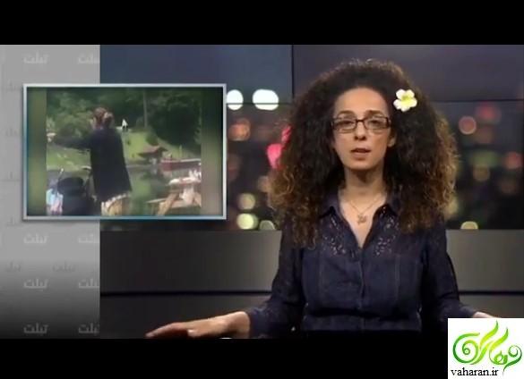 حمله مسیح علی نژاد به آزاده نامداری + فیلم