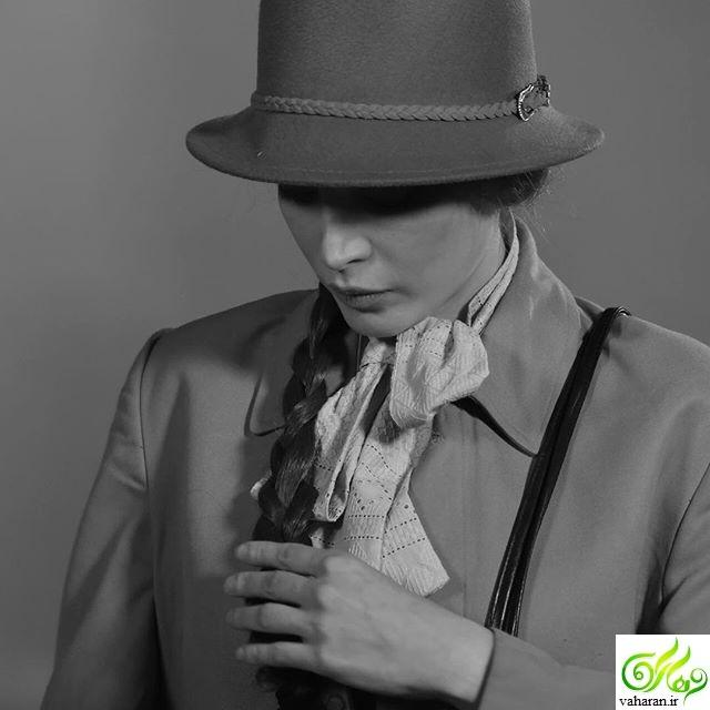 سیگار کشیدن بهنوش طباطبایی مرداد 96 + عکس