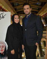 عکس جشن تولد پدرام کریمی تیر ۹۶ در کنار همسرش یاسمن