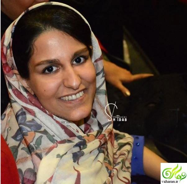 عکس دختر مهران مدیری در اکران ساعت 5 عصر تیر 96