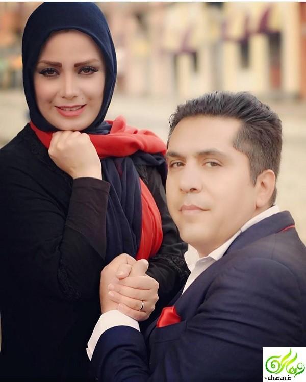عکس عاشقانه صبا راد و همسرش دست در دست هم