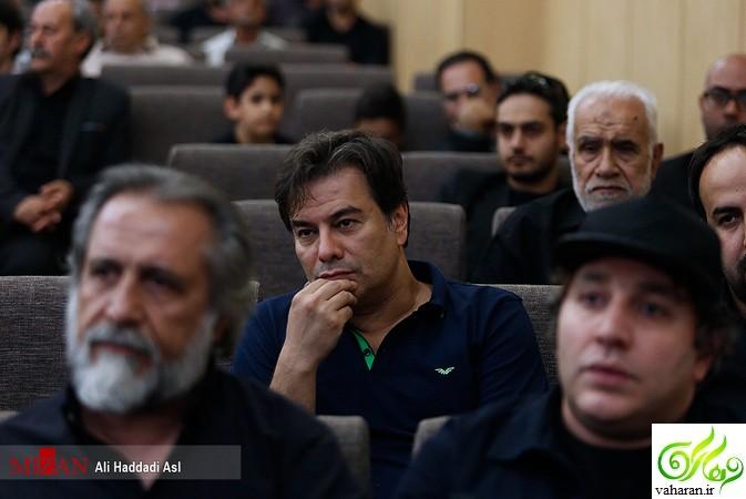 عکس های بازیگران در مراسم ترحیم پدر محسن تنابنده در سال 96