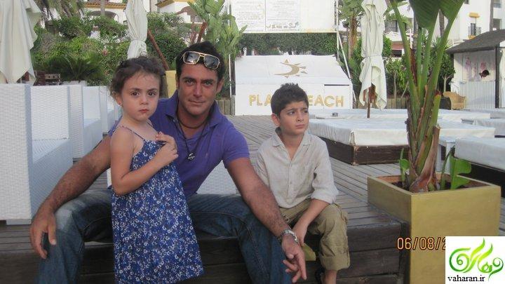 عکس های خانوادگی محمدرضا گلزار / پدر و مادر و برادران و خواهرزاده هایش