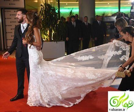 عکس های عروسی لیونل مسی و همسرش + فیلم عروسی و عکس پدر و مادر مسی