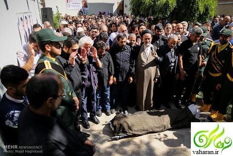عکس های مراسم تشییع حبیب الله کاسه ساز تیر 96
