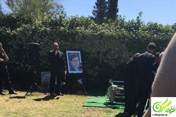عکس های مراسم خاکسپاری مریم میرزاخانی در آمریکا