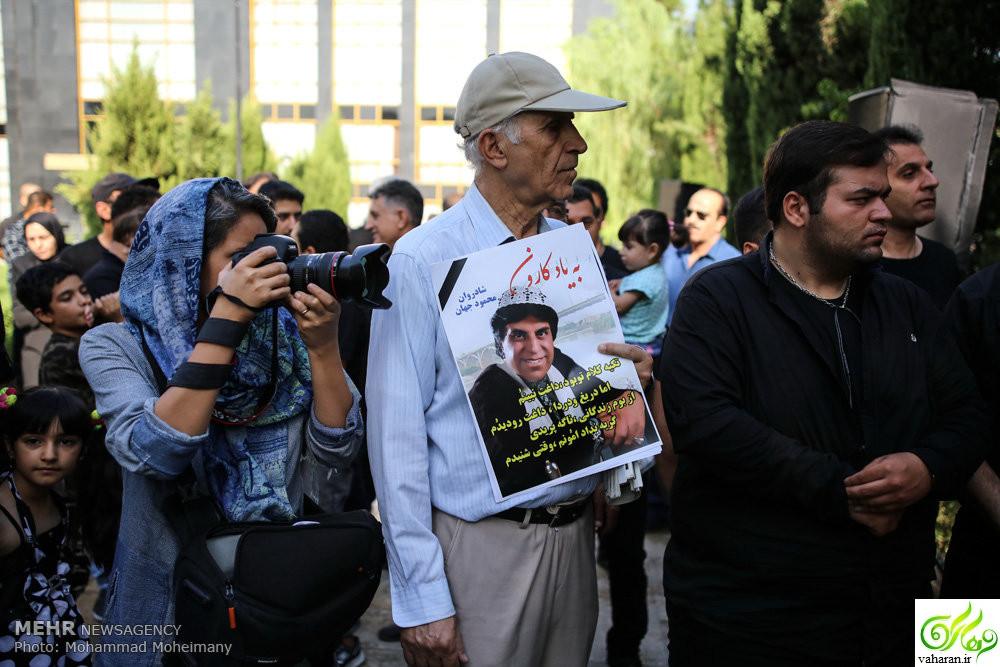 مراسم تشییع محمود جهان مرداد 96 + جزئیات و عکس