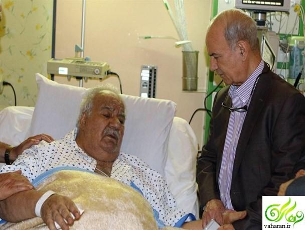 جزییات بستری شدن ناصر ملک مطیعی در بیمارستان مرداد 95