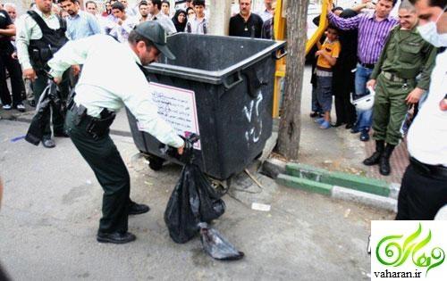 جزییات پیدا شدن دو سر بریده در خیابان شیخ بهایی تهران مرداد 96