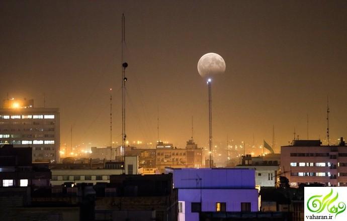 زیباترین تصاویر ماه گرفتگی مرداد 96 در ایران