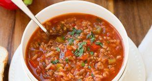 سوپ با مواد دلمه,روش تهیه سوپ با مواد دلمه,دستور تهیه سوپ با مواد دلمه,آموزش تهیه سوپ با مواد دلمه,درست کردن سوپ با مواد دلمه,روش درست کردن سوپ با مواد دلمه