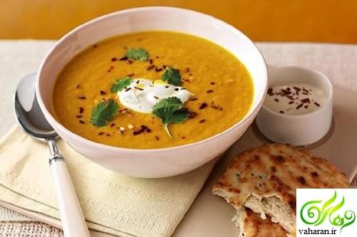 طرز تهیه سوپ هویج و عدس به سه روش مختلف