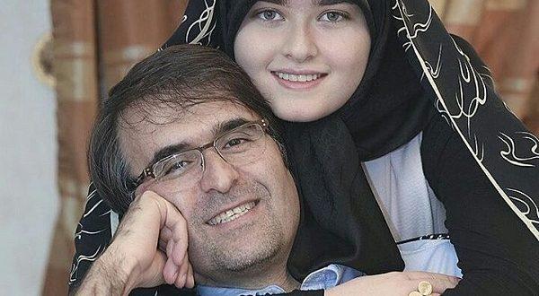 عکس جدید یاسمن اشراقی در سال ۹۶ در کنار پدرش علی اشراقی