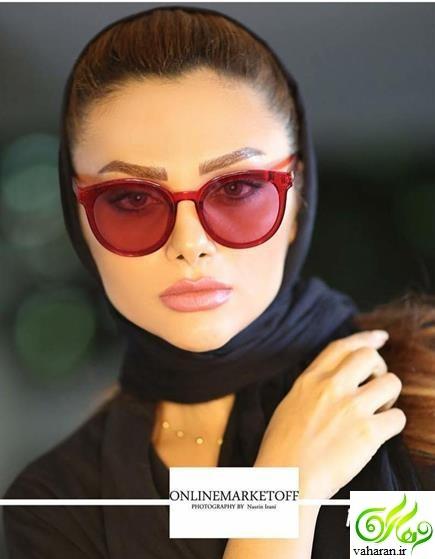 عکس های بی حجاب نسیم نهالی همسر محسن فروزان