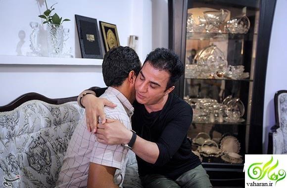 ملاقات عمو پورنگ و خانواده بنیتا و اشک های دلخراش او + عکس
