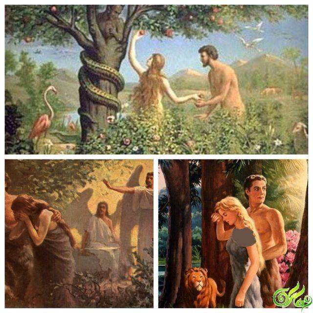 مرجع تعبیر خواب : تعبیر خواب آدم و حوا