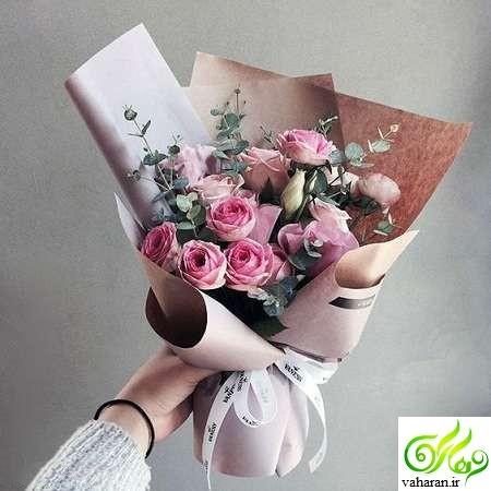 طرز دوخت کیسه یا کاور گل برای هدیه به عشق تان