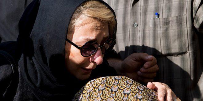 عکس های بازیگران در تشییع نادر گلچین مهر ۹۶