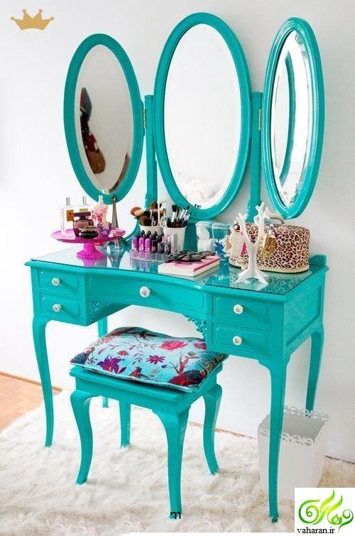 مدل میز آرایش کوچک برای خانه های کوچک