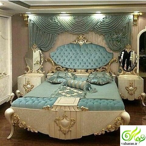 مدل سرویس خواب عروس / مدل تخت خواب دونفره