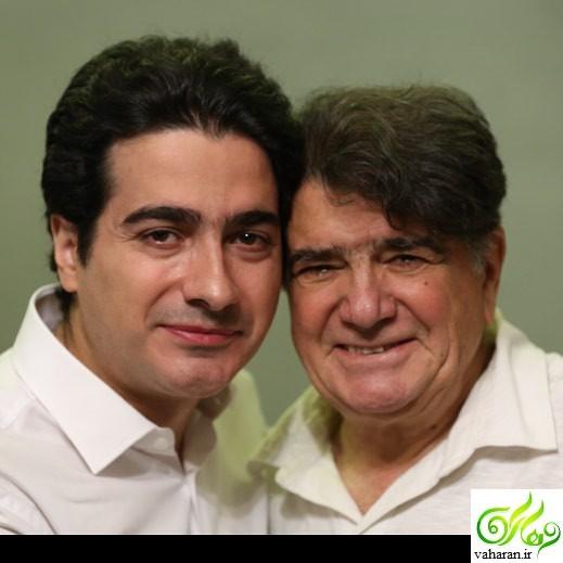 عکس استاد محمدرضا شجریان و پسرش