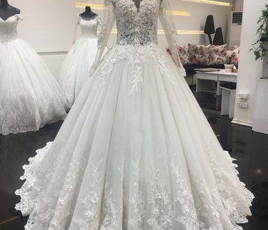 انواع مدل لباس عروس ۲۰۱۸ و ۹۷ (دکلته، ماهی، دانتل، دنباله دار)
