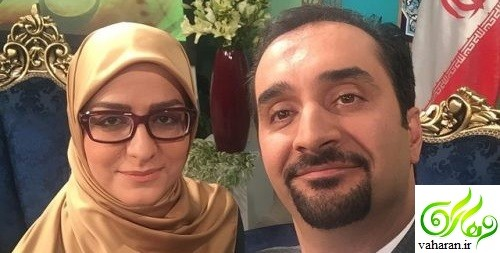 در آغوش گرفتن نیما کرمی و همسرش زینب زارع روی آنتن زنده + فیلم