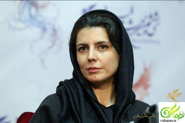 چهره ساده و بی آلایش لیلا حاتمی در جشنواره فیلم فجر 96