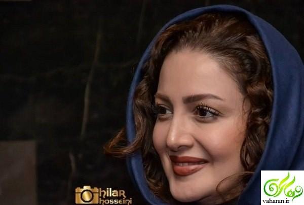 تیپ متفاوت و دیدنی شیلا خداداد در جشنواره فیلم فجر ۹۶ به همراه همسرش
