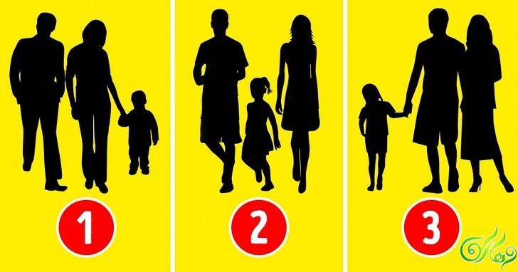 تست روانشناسی خانواده : حدس بزنید کدام خانواده واقعی نیست؟